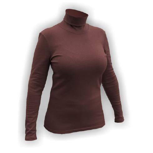 Jitex - Textil, funkční prádlo, oblečení, termoprádlo | Tradiční pletené výrobky | Trička | rolák pro ženy KULIRA 801,XXL