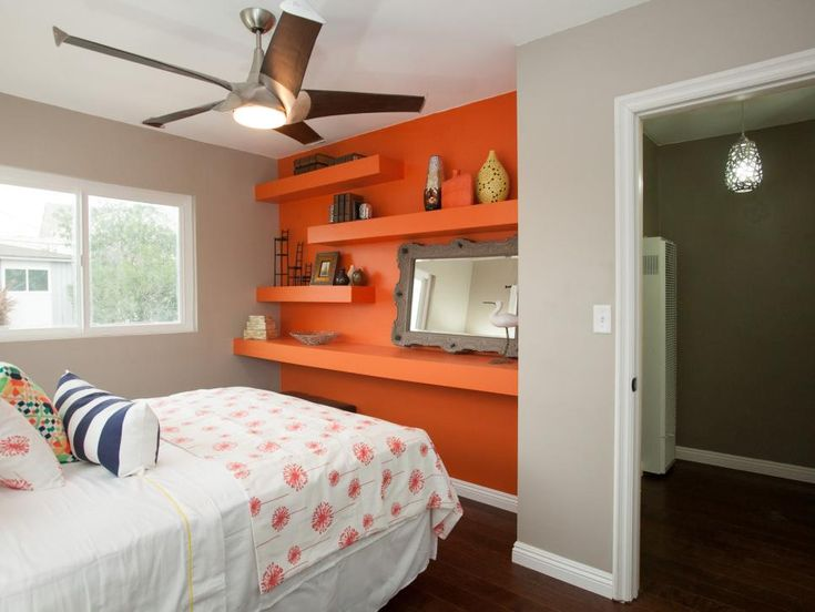 1000 ideas about orange accent walls on pinterest 16568 | d6634019255cb18d7b521864d352c1cb