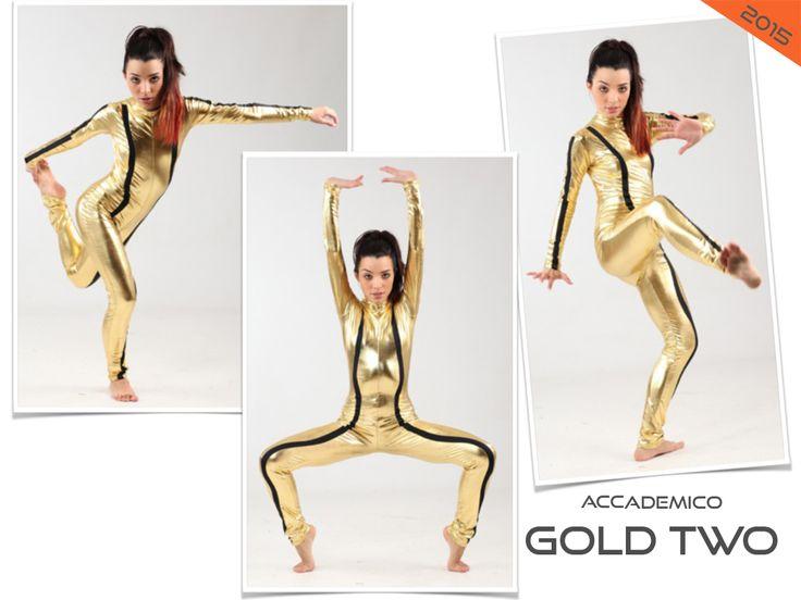GOLD TWO costume danza saggio