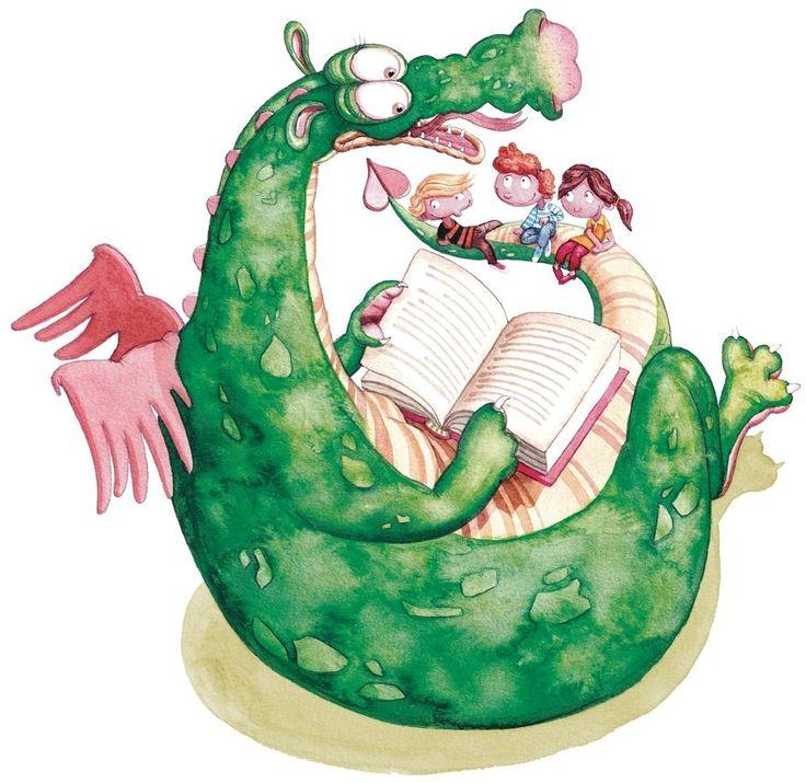 Els dracs també llegeixen :) #SantJordi2015