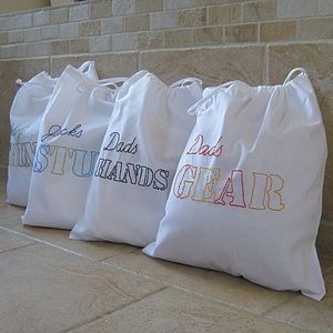 Personalised Men's Tidy Bag