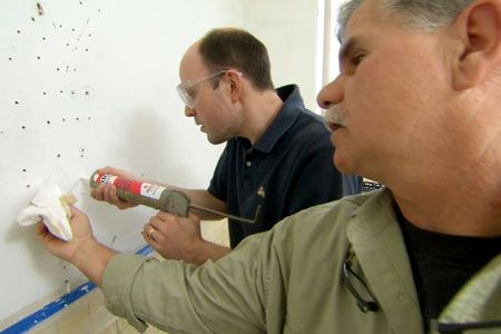with General contractor Tom Silva | thisoldhouse.com | from Quick, Cheap, and Effective Plaster Repair