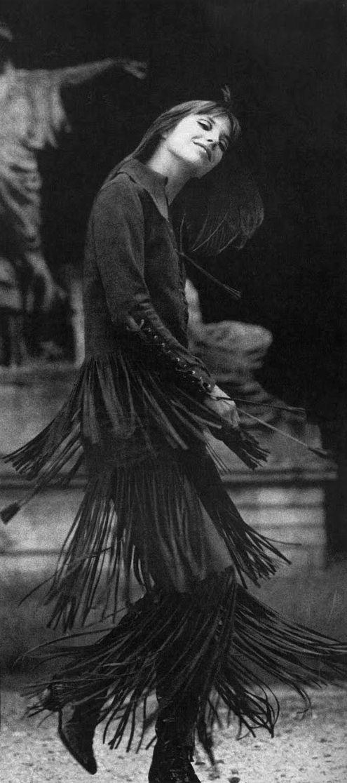 jane birkin fringed goddess