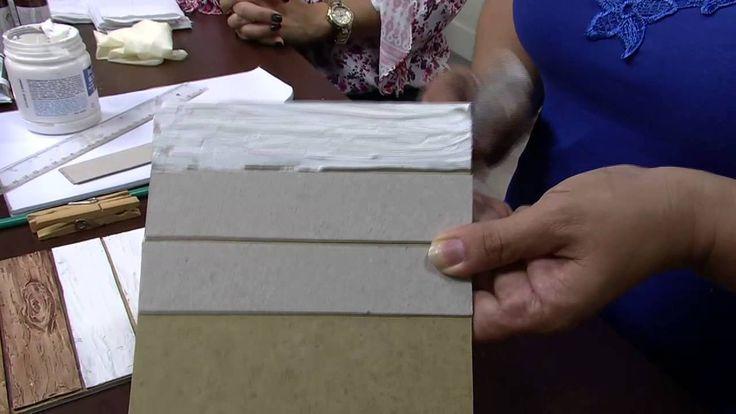 Ripado c/ textura Parte 1/2 Célia Bonomi 23/02/2015