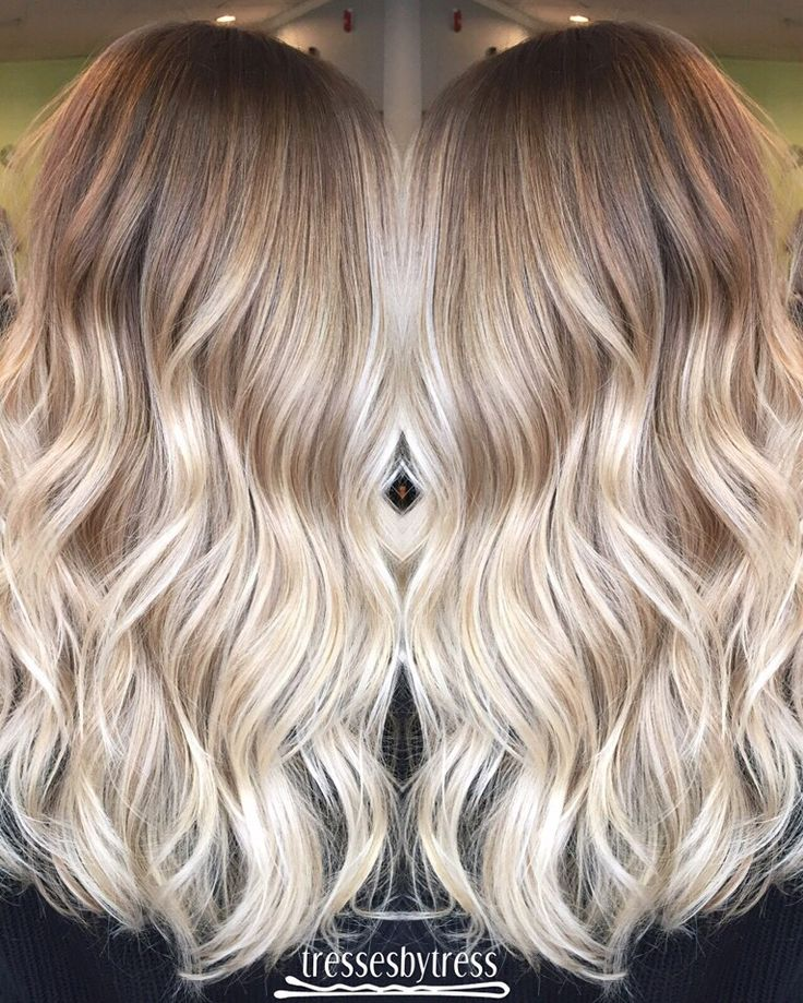 Blonde ombré balayage More