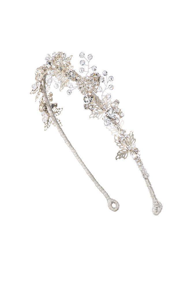 Lazuline Headdress II Crystal Silver