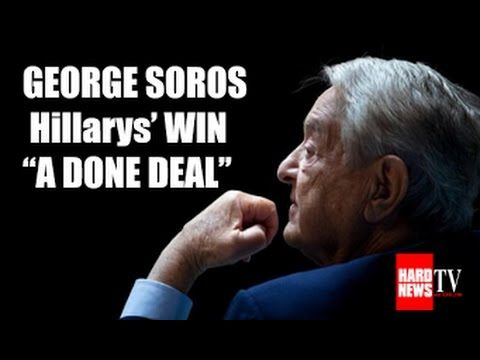 Oct 19, 2016 George Soros Interview: Trump gets Popular Vote, Hillary gets the Election - YouTube