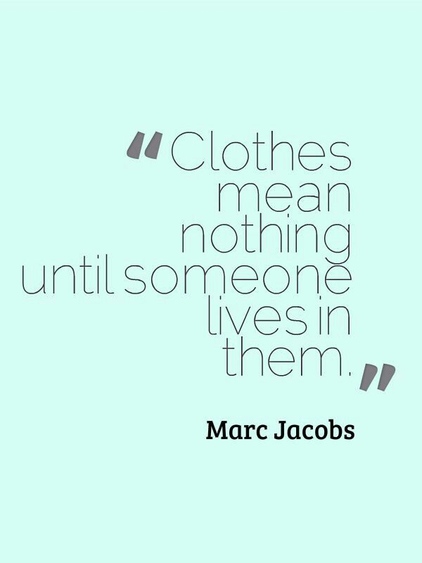 quotes about fashion and life - photo #32