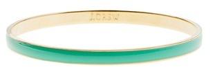 Classic thin bangle (JCrew), Spearmint