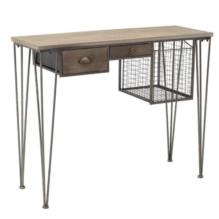 Бюро в индустриален стил / #мебели #обзавеждане