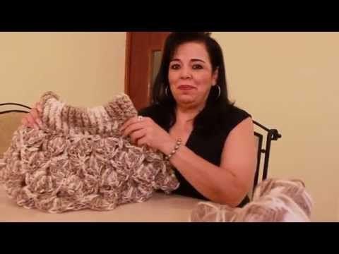 TEJE CON TUS DEDOS CHALECO DE GRANIZOS - Crochet Fácil y Rápido - YouTube