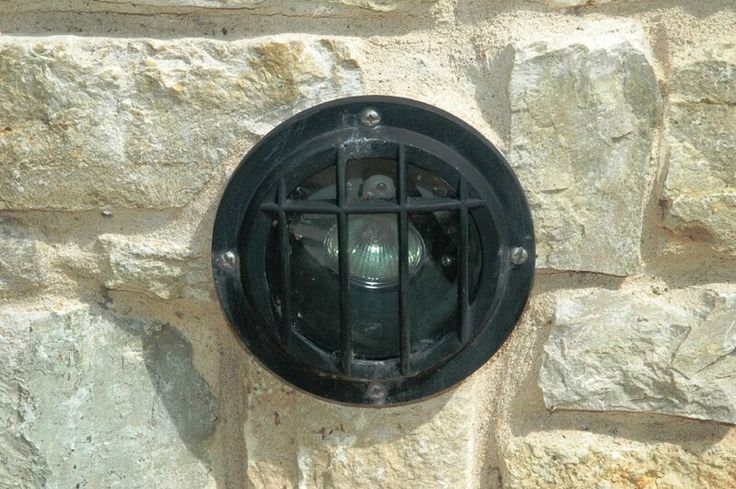 LED lights can be placed anywhere for a nice glow. By Outdoor Signature in Argyle, TX.