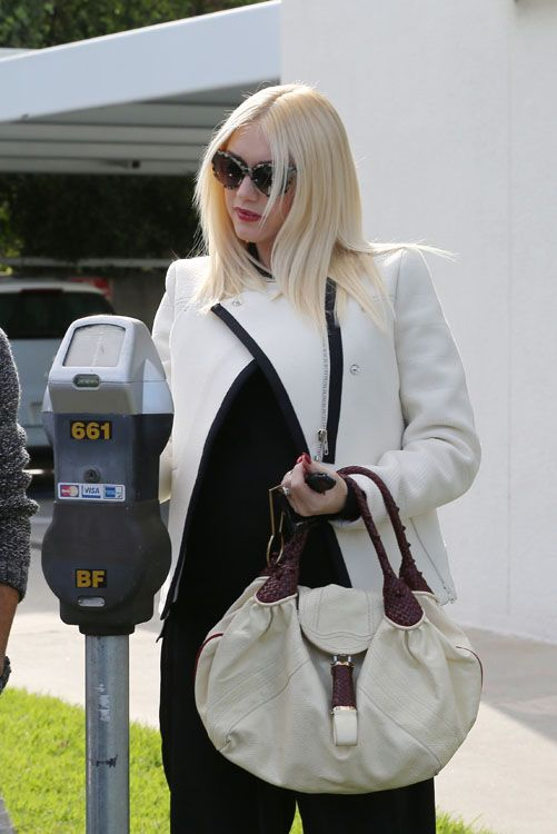 "Gwen Stefani was recently spotted heading into No Doubt bassist Tony Kanal's house in Los Angeles with a bag we haven't seen for a spell: the Fendi Spy Bag. This bag is a total throwback to the halcyon days of the mid-2000s ""It Bag"" craze. Fendi hasn't produced Spy Bags for several years now, and …"