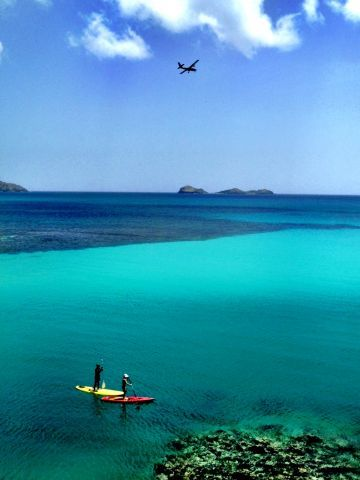 st barth's #paddleboarding - dream place to paddleboard - no waves!!!