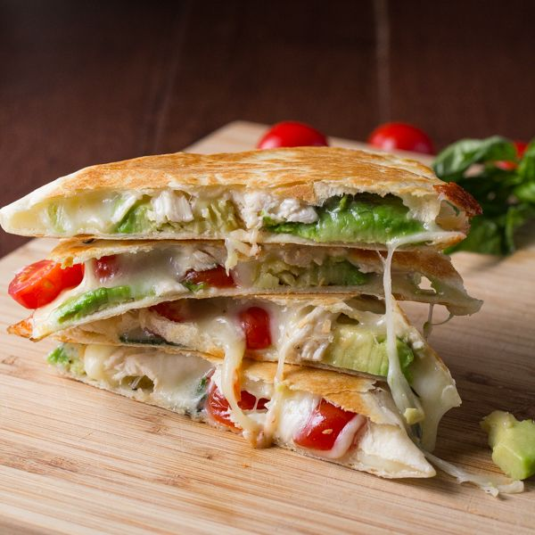 ... Quesadilla Recipes, Chicken Quesadillas and Cheeseburger Quesadilla