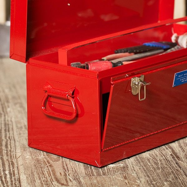 This front-loading toolbox is a great gift for Father's Day