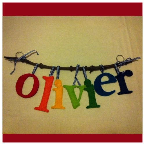 name banner for newborn