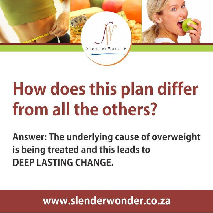 How does this weight loss plan differ from all the others?