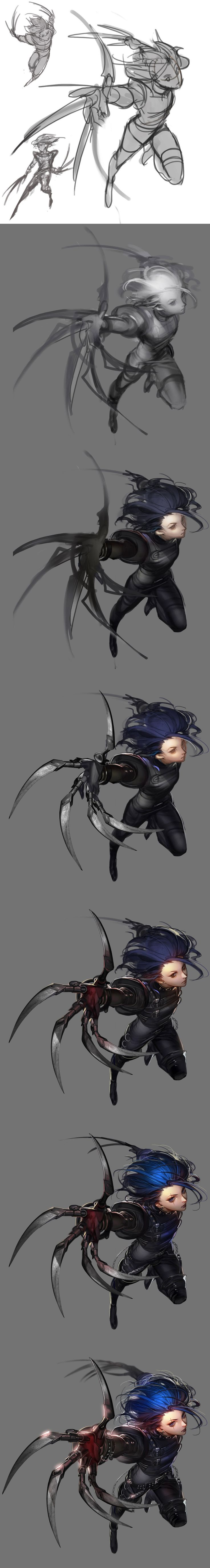 ArtStation - Edward Scissorhands, li duke