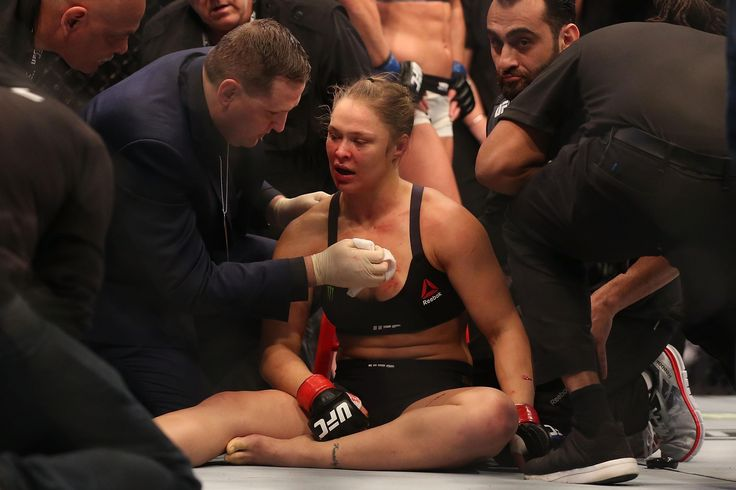 [Image] After her loss to holly holm ronda rousey appeared to be mentally broken. A year later she suffered another humiliating loss to Nunes and it is doubtful whether she will compete again. So How much fight do you have? What would it take to break you?