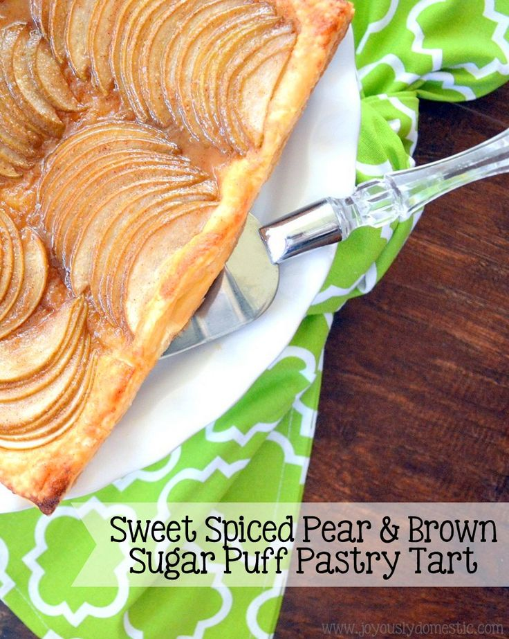 Serve this stunning, yet uncomplicated-to-prepare pear ...