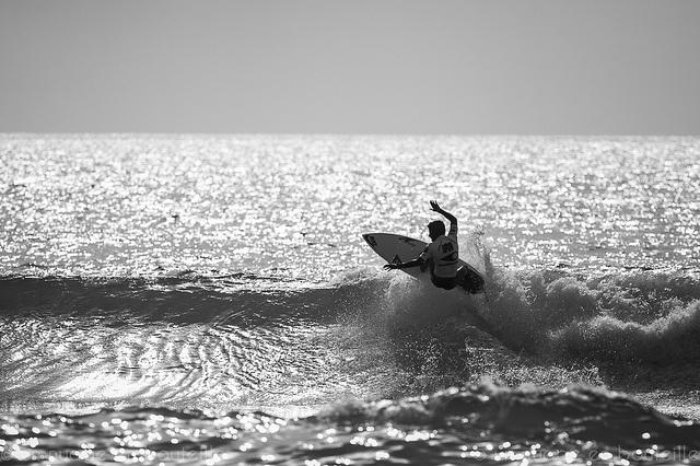 Felipe Toledo - Vainqueur du Soöruz Lacanau Pro 2012 by Vincent Montibus, via Flickr   #bw #blackandwhite #black #white