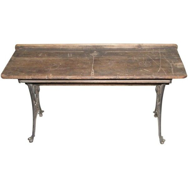 19th century antique school bench: architectural salvage online