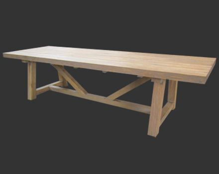17 best images about d i y tips on pinterest diffusers for Building a trestle dining table