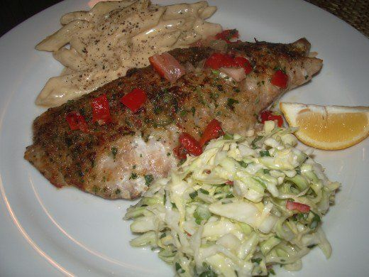 I've been searching for years for a really easy -- yet super delicious -- recipe for baked Red Snapper. This is it! You're going to flip once you try it.