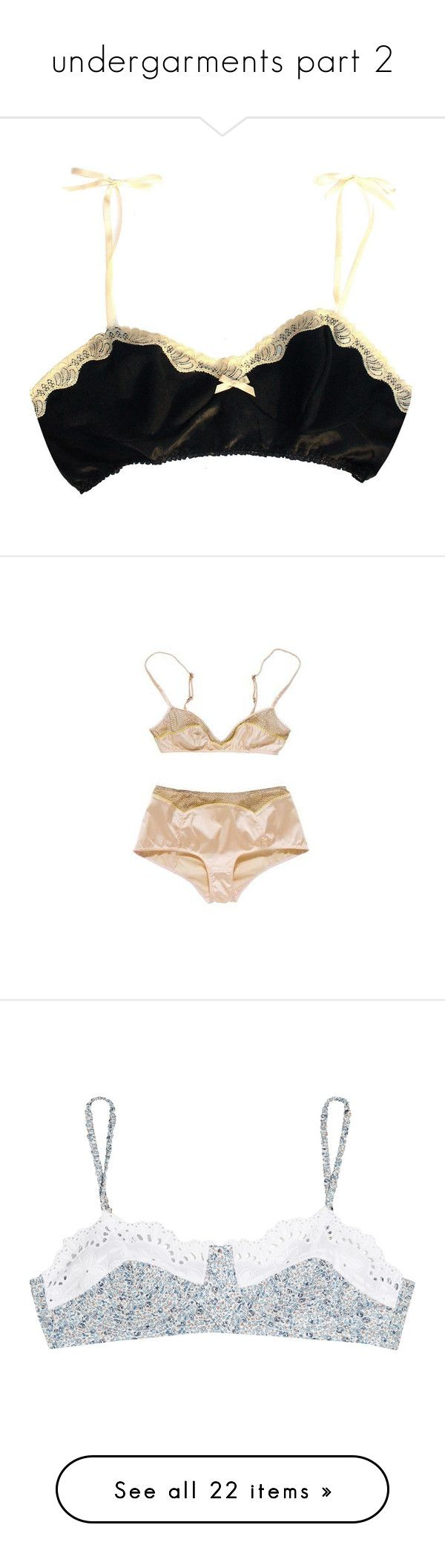 """undergarments part 2"" by thug-lyfe ❤ liked on Polyvore featuring intimates, bras, lingerie, underwear, women, underwire bra, bralette lingerie, bralette bras, soft cup bra and black and white lingerie"
