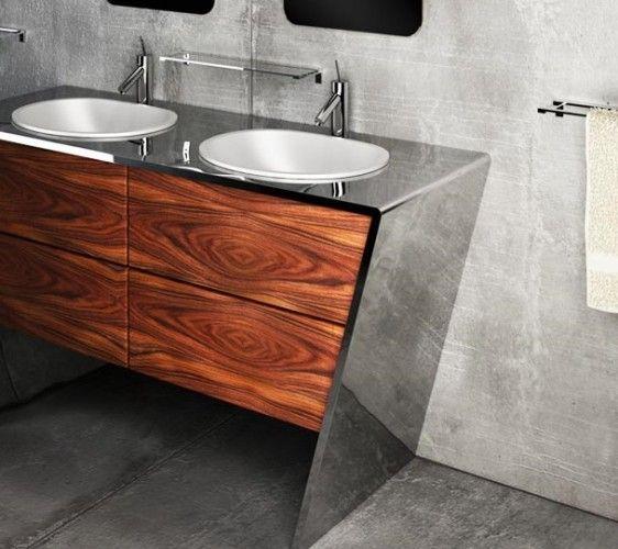 #acciaioinox #arredamento #stile #moderno #cucina #bagno #igiene #design