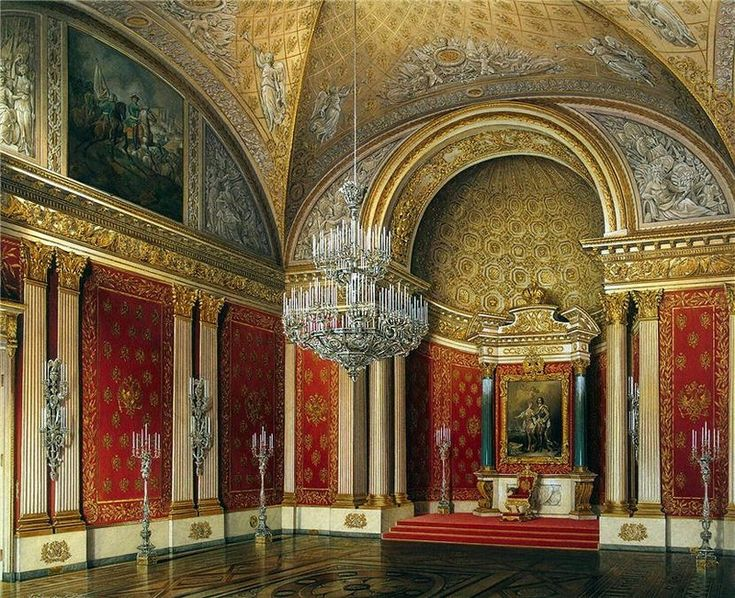 Эрмитаж, Петровский (Малый тронный) зал