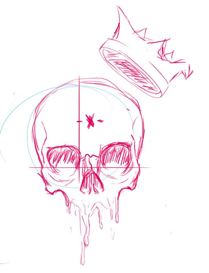 Echa un vistazo a mi proyecto @Behance: \u201cskull king\u201d https://www.behance.net/gallery/43975957/skull-king
