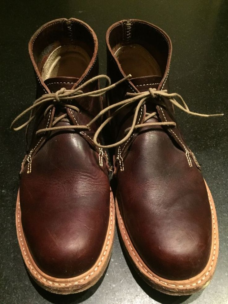 Timberland Men's Made in USA Brown Leather Chukka Boots, Size 8   Frye, Red Wing #Timberland #AnkleBoots