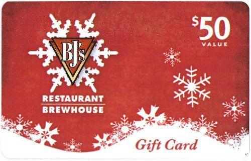 BJ's Restaurant Holiday Gift Card $50 - http://www.darrenblogs.com/2016/12/bjs-restaurant-holiday-gift-card-50/