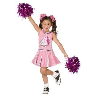 Girl's Cheerleader Costume