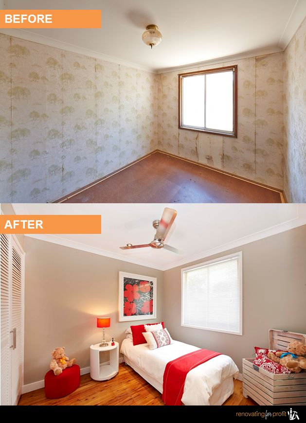 Bedroom Before And After Pinterest