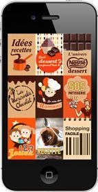 Les applications Nestlé Dessert - La Table à Dessert