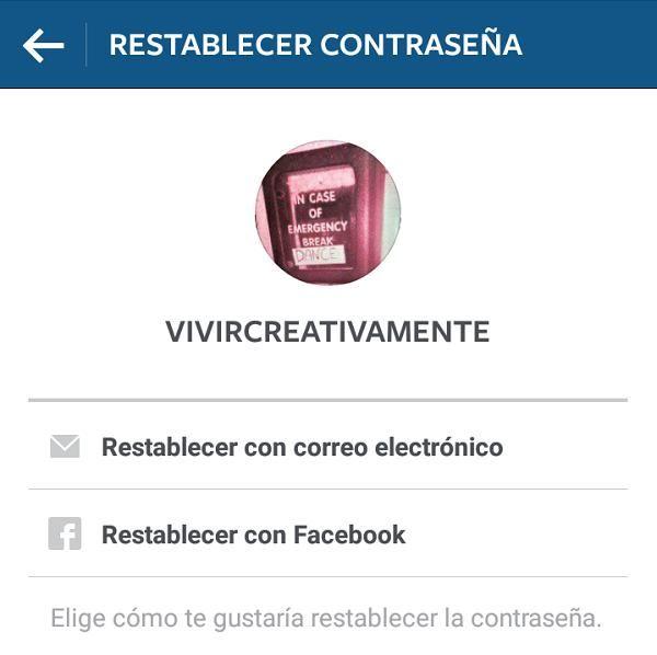 Cómo recuperar mi contraseña de Instagram - 10 pasos