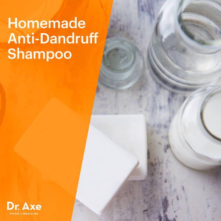 Anti-dandruff shampoo - Dr. Axe http://www.draxe.com #health #holistic #natural