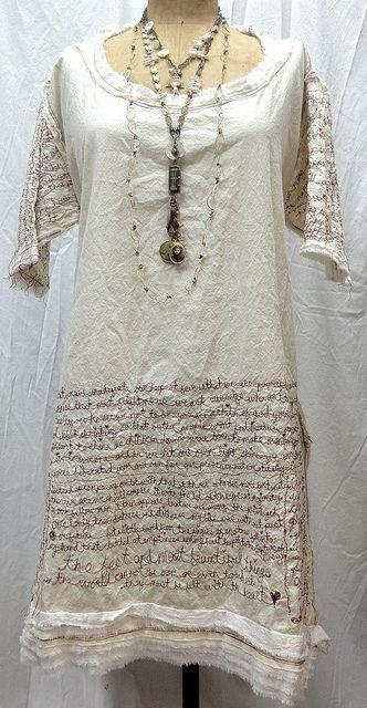 Ruth Rae's Red Thread Journal Dress