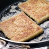 My favourite potato farls, I love them toasted with butter as a treat.