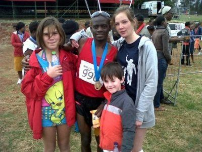 Mandela Marathon 2012 2nd place @Munya95 Sav, @Riveryfry @Aidendavis7 @mandelamarathon