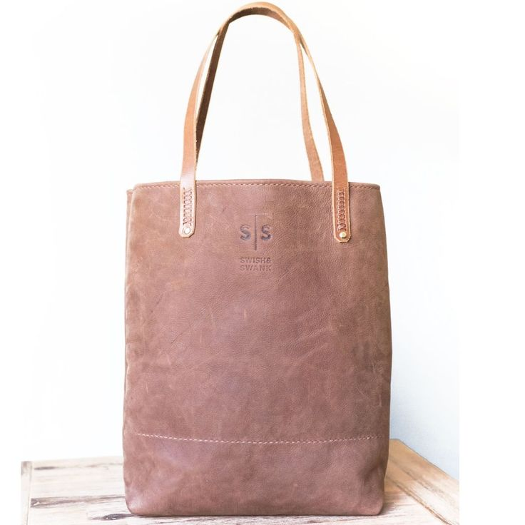 What's so special about the leather tote bag Ruth? She tends to leave you speechless...  www.swish-swank.com