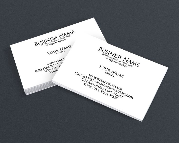 37 best black and white business cards images on pinterest blog minimalist 4 business card design colourmoves