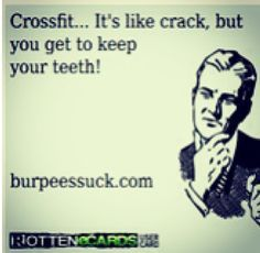 until you hit yourself in the face with a bar doing snatches. lol