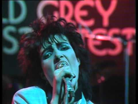 Siouxsie & The Banshees Metal Postcard (Old Grey Whistle Test 7/11/1978)