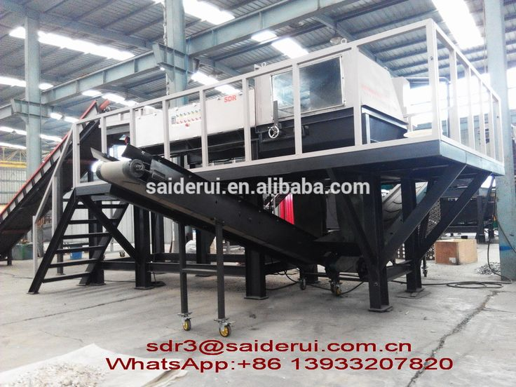 """Mixed solid waste eddy current separator for plastic ,glass and nonferrous metal separation"""