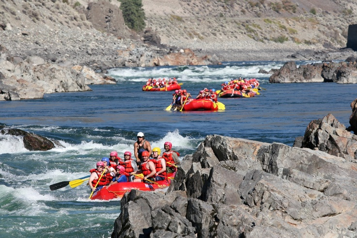 Rafting the Thomson River with REO Rafting Resort  - http://travelthecanyon.com