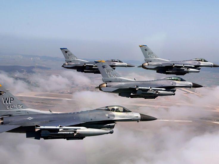 F-16 Fighting Aircraft